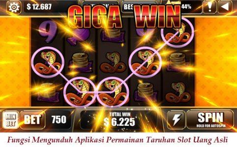 Fungsi Mengunduh Aplikasi Permainan Taruhan Slot Uang Asli
